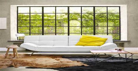 canape cuir blanc angle 8 canapés déco pour un salon design deco cool