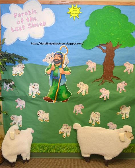bible fun  kids parables  jesus vbs day  lost