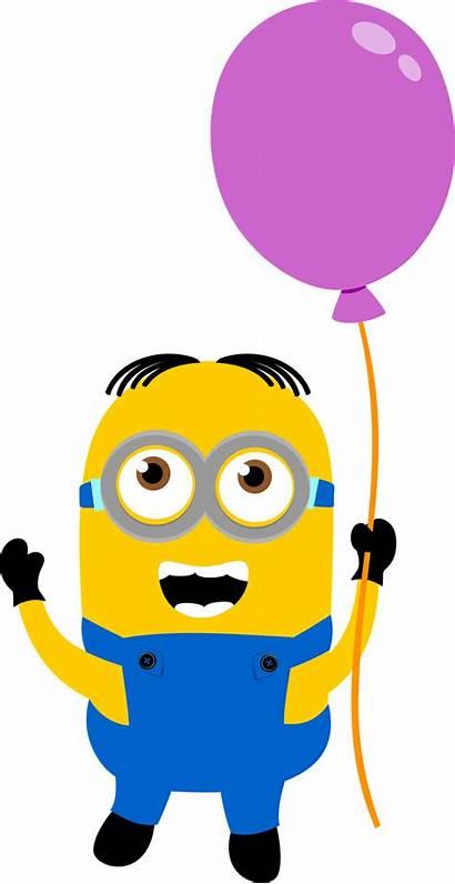 Minion Clipart Birthday Despicable Happy Minions Clip