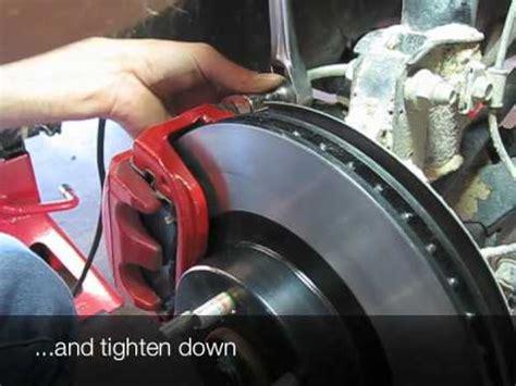 subaru forester brakes rotor  pad change youtube