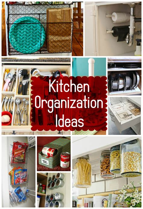 tips for organizing your kitchen 15 kitchen organization ideas the craftiest 8537