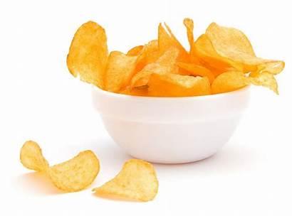 Chips Potato Bowl Crisps Clipart Halal Different