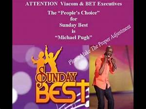 "Michael Pugh ""IS"" The People's Choice for Sunday Best ..."