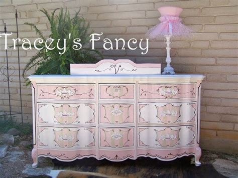 french provincial buffet table furniture dresser painted changing table french