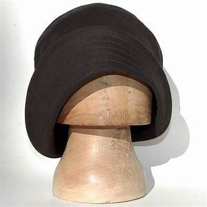 Black avant-garde hat ZUTbelle - ZUT hats