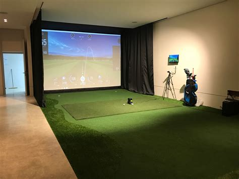skytrak golf installation  marbella spain   private