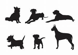 Free Vector Dog Silhouette Vectors - Download Free Vector ...