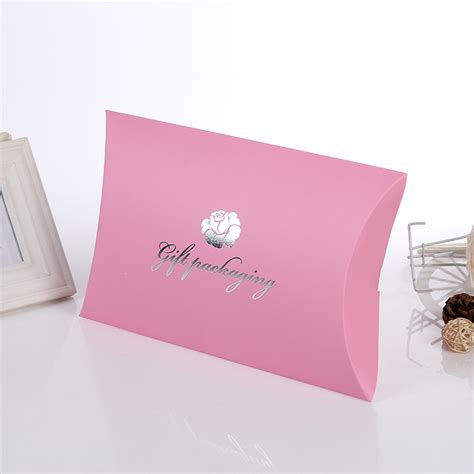 custom printed paper pillow box for hair extension packaging type 74 on aliexpress alibaba