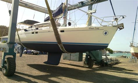 Applying Bottom Paint New Boat by Antifouling Your Boat Bottom Painting Tips Grenada