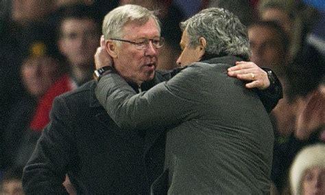 Jose Mourinho Gets Surprise Visit From Sir Alex Ferguson