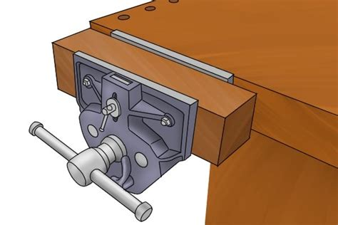 mount  woodworking vice wonkee donkee tools