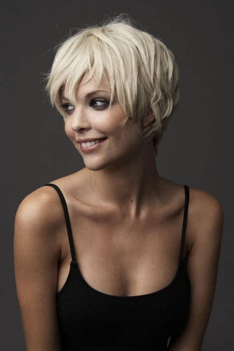 short blonde pixie hairstyle women hairstyles
