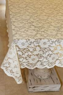lace tablecloths for weddings tablecloth lace square ivory 54in