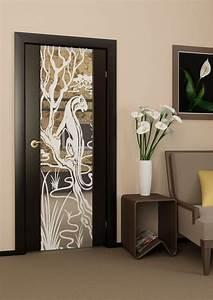 portes interieures modernes en 38 idees pour votre maison With decoration pour porte d interieur