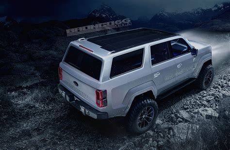 2020 Ford Bronco To Get 325 Hp 2.7l Ecoboost V6 According