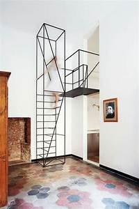 Leiter Für Treppenstufen : treppenhaus gestalten wie machen das die designer ~ A.2002-acura-tl-radio.info Haus und Dekorationen