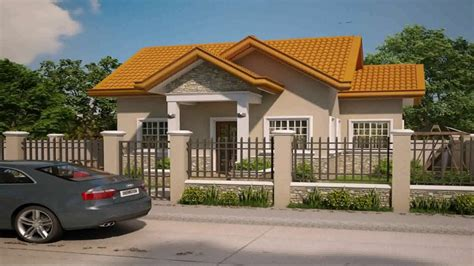 Home Design Video : Bungalow House Design In The Philippines With Floor Plan