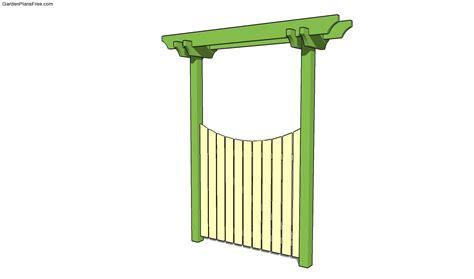garden gate ideas wrought iron wooden vinyl landscaping