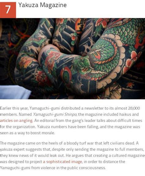 facts   yakuza