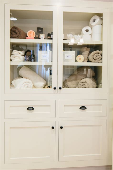 built in bathroom cabinets built in linen cabinet transitional bathroom redbud