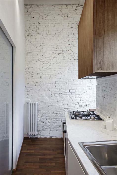 comptoir de cuisine blanc  idees elegantes avec du