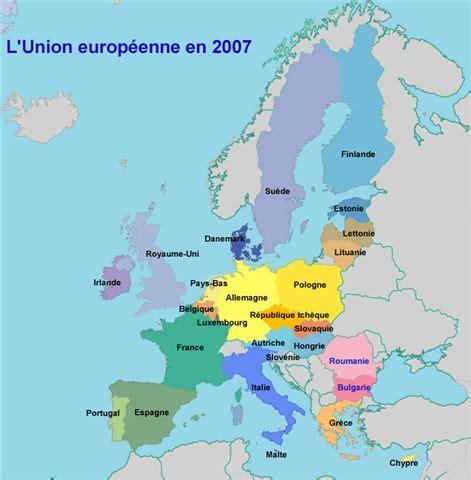 Carte De L Union Européenne En Anglais by Asapfrance Info Zoom La D Ici Et D