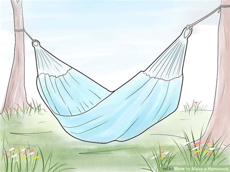 How To Make Hammocks by 3 Ways To Make A Hammock Wikihow