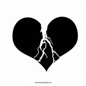The gallery for --> Broken Heart Silhouette