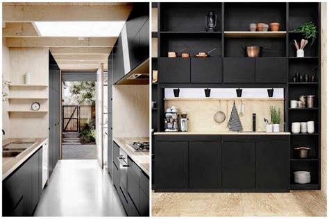 chaises de cuisines comment intégrer la couleur noir dans votre déco intérieure