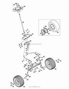Mtd 13ar91pp099  247 289810   2010   Pyt9000 13ar91pp099  2010  Parts Diagram For Steering