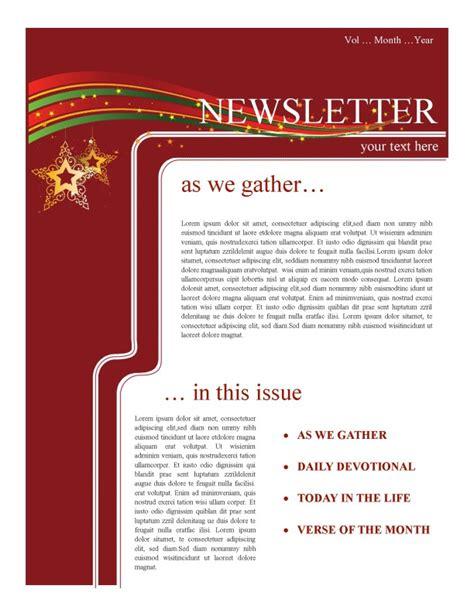 holiday newsletter newsletter template newsletter templates