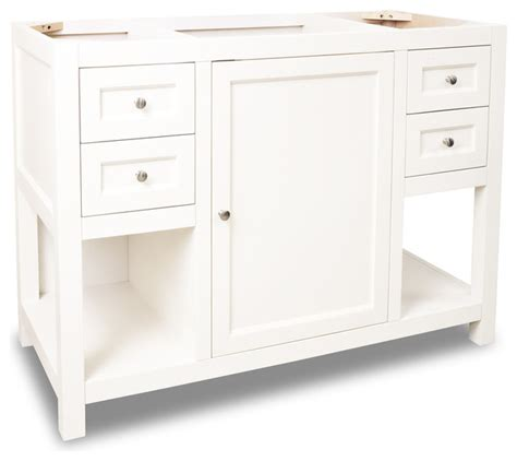 lyn vanity without top 47 5 quot transitional bathroom