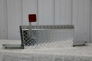 heavy duty aluminum diamond plate  gauge mailbox medium