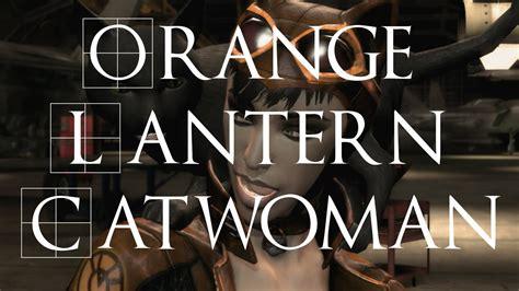 pc injustice gods among us orange lantern mod