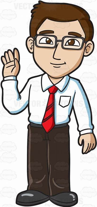 Clipart Father Working Going Cliparts Cartoon Clip