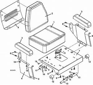 Grasshopper 932g2 Seat Assembly 2004 Mower Parts Diagrams