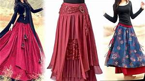 Indian Skirt And Top Designs.Daily Wear Long Skirt Design Images Photo For 2018 YouTube. Hot ...