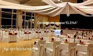 Decke Mit Stoff Abhängen : sch ne hochzeitsdeko und hochzeitsdekoration dekoration ~ Sanjose-hotels-ca.com Haus und Dekorationen