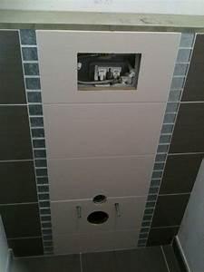 Pose Toilette Suspendu : pose bati wc avant ou apres chape 12 messages ~ Melissatoandfro.com Idées de Décoration