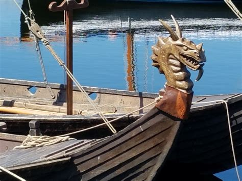 Viking Boats by The Viking Boats In Galway Ben Witherington