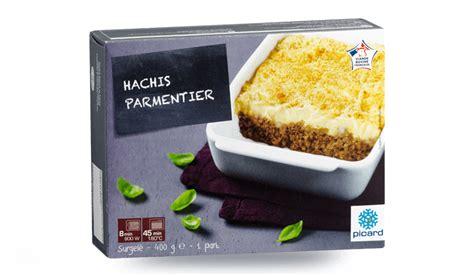 plats cuisin picard hachis parmentier surgelés les plats cuisinés picard