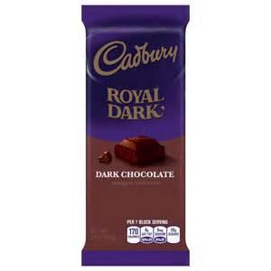 Cadbury Royal Dark Chocolate Bar