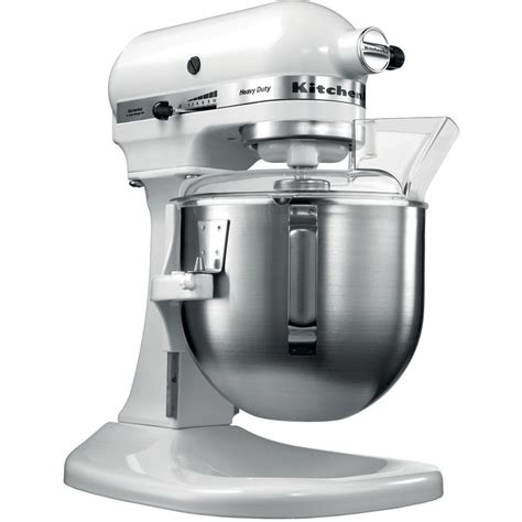 de cuisine kitchenaid kitchenaid 5kpm5 heavy duty 4 8l blanc colichef fr