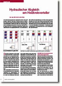 Hydraulischer Abgleich Heizkörper : hydraulischer abgleich am heizkreisverteiler fachjournal ~ Lizthompson.info Haus und Dekorationen