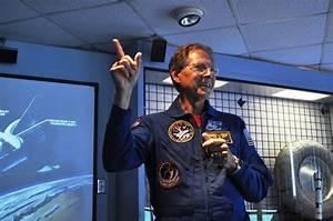 NASA Payload Specialist Samuel T. Durrance (Ph.D.) Speaks ...