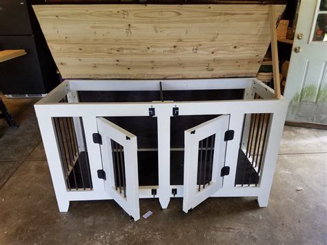ana white indoor fancy pet kennel diy projects