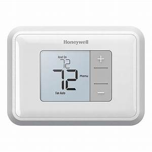 Honeywell Rth5160d1003 Simple Display Non