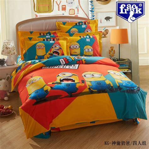kids comforter sets queen size despicable minions bedding set king size comforter sets quilt cover bed sheets