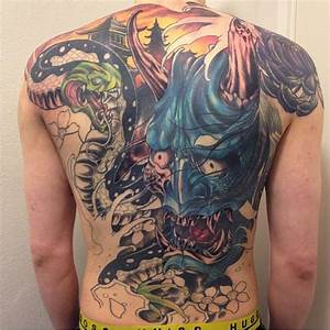 40 Best Japanese Mask Tattoos - Designs and Ideas (2018)