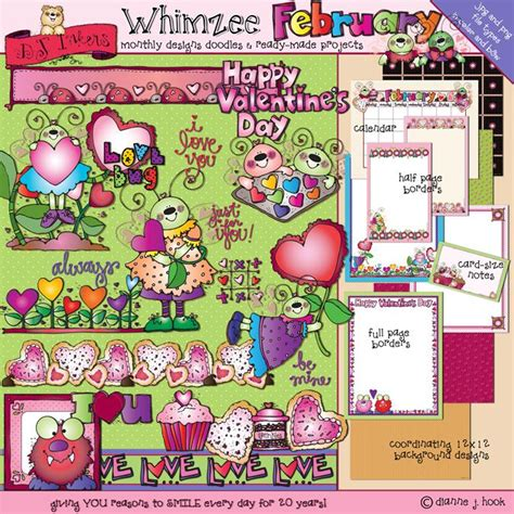 whimzee february brings  love bug  borders clip